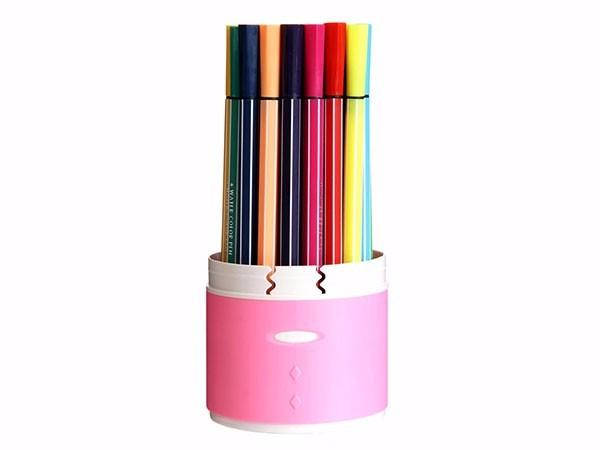 得力 7068 绚丽多彩可洗水彩笔/绘画笔 36色/筒