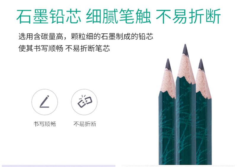 详情页7中华 101 2B绘图铅笔考试铅笔 12支/盒