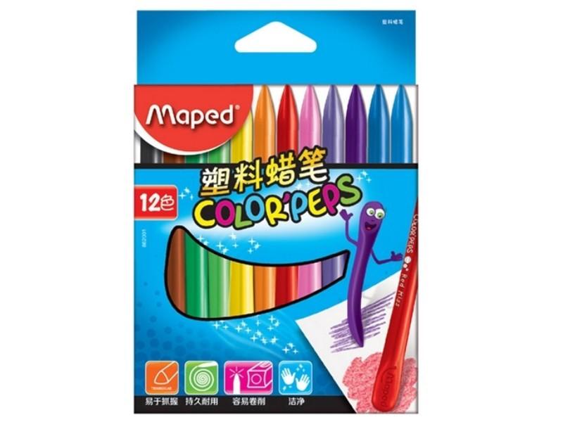 马培德862001 12色蜡笔