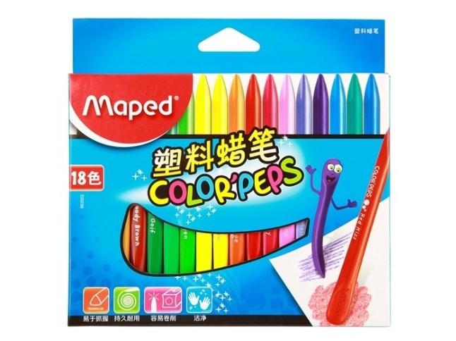 马培德862002 18色塑料蜡笔