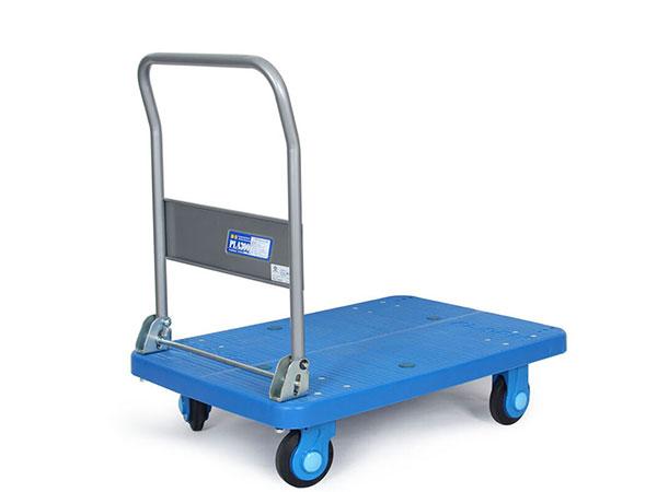 KANATSU静音平板车折叠手推车搬运拉货推车  PLA300-DX