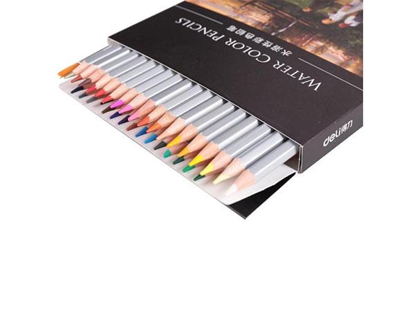 得力 36色水溶性彩色铅笔 水溶性彩铅套装 6519