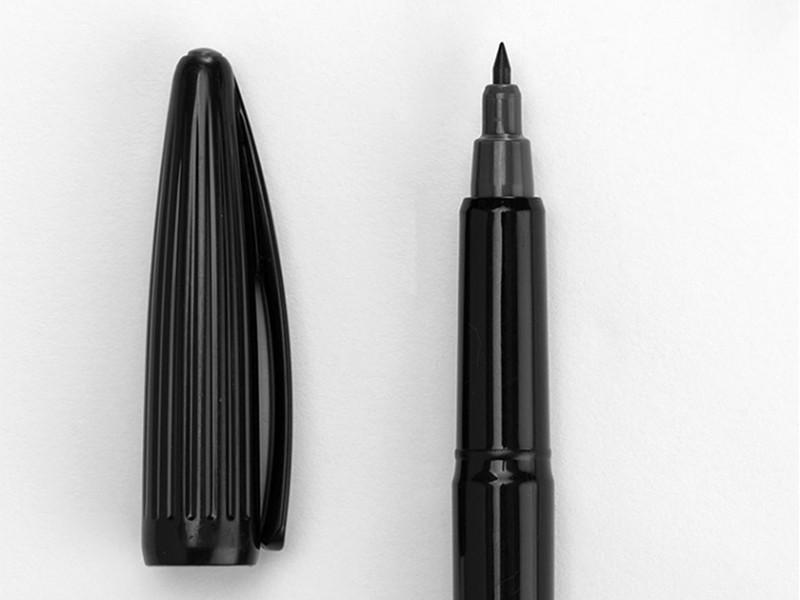 日本MINISO水性纤维中性笔(黑色)
