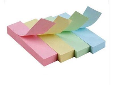 四色告示贴金万年G-7006告示贴自粘便条纸