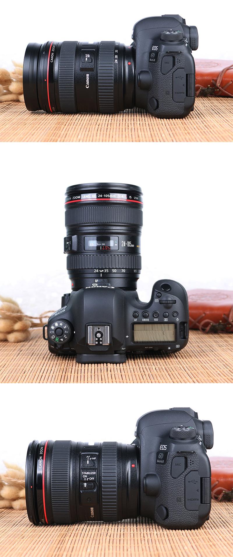 佳能 EOS 6D Mark II 单机 6D2 6Dii 全画幅高清旅游数码照相机 佳能6D2单机身 标配