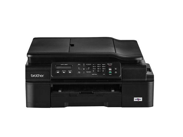 兄弟 MFC-J200 商用彩色喷墨多功能一体机打印复印扫描传真机
