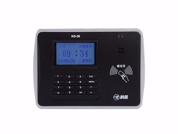 科密 KD-38考勤机打卡机ID卡刷卡机 此卡感应卡上班签到钟TCP局域网线