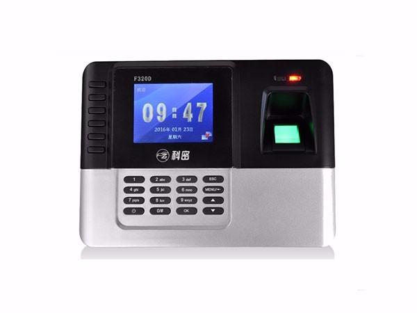 科密(Comet)F320D指纹+刷卡ID卡考勤机 磁卡刷卡式员工打卡机