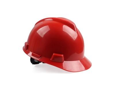 梅思安10172892 红色 ABS安全帽