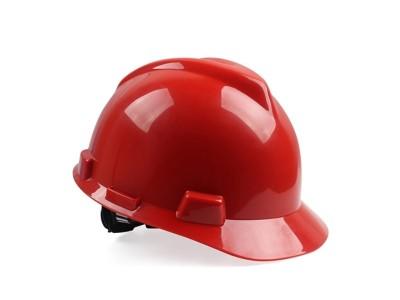 梅思安10146461 红色 PE安全帽