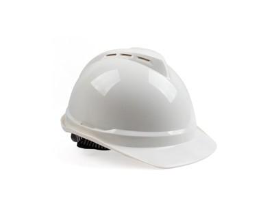 梅思安10172512 白色 豪华透气ABS安全帽