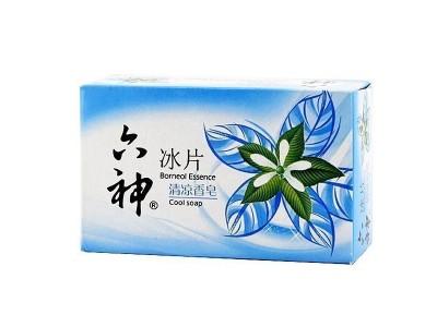 六神冰片 桑叶 90g 清凉香皂