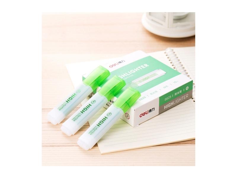 得力S625荧光笔(绿)
