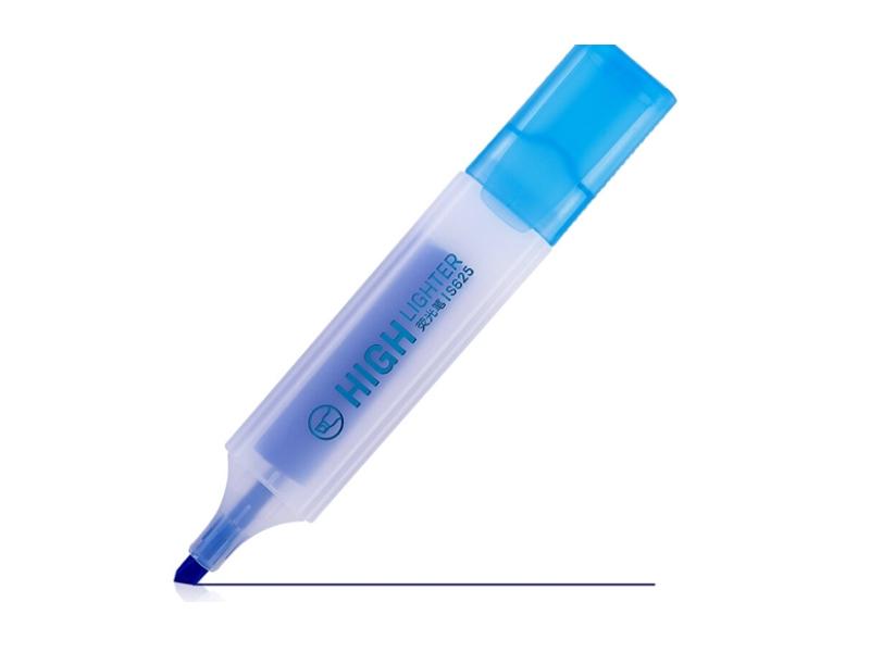 得力S625荧光笔(蓝)