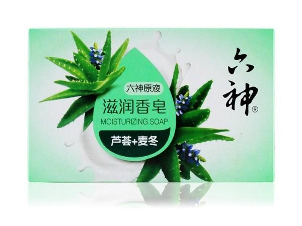 六神芦荟 麦冬 90g 滋润香皂