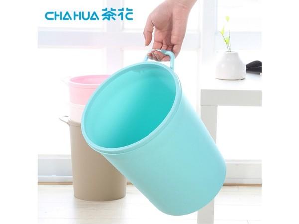 茶花1523 PP垃圾桶7.9L