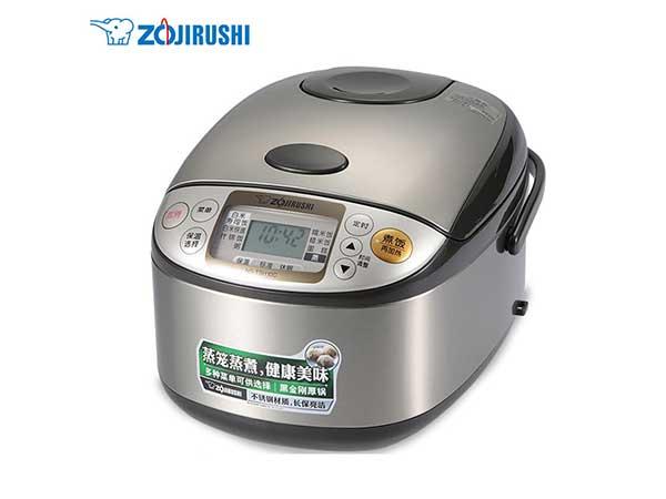 象印(ZO JIRUSHI)电饭煲家用电饭锅黑内釜厚内胆国内标准3L容量