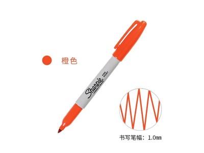 三福30006  经济型记号笔(橙色)