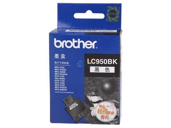 兄弟 LC-950BK 墨盒黑色 适用于MFC-210C410CN215C425CN