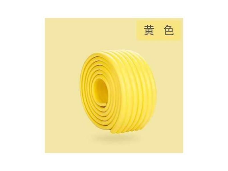 防撞条W型80*8*2M(亮黄色)