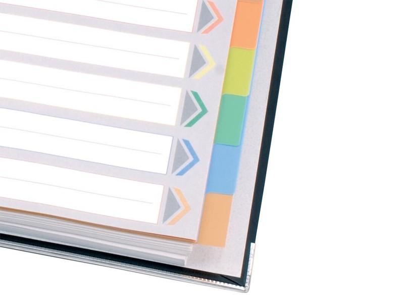 IX902 10页齐心彩色分页纸
