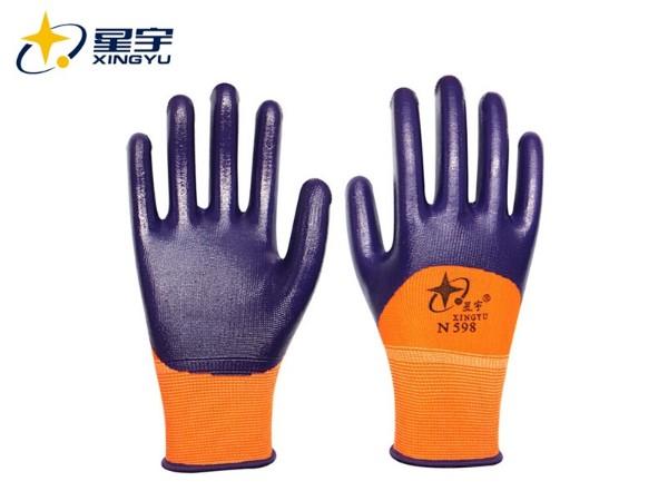 星宇N598耐酸碱手套