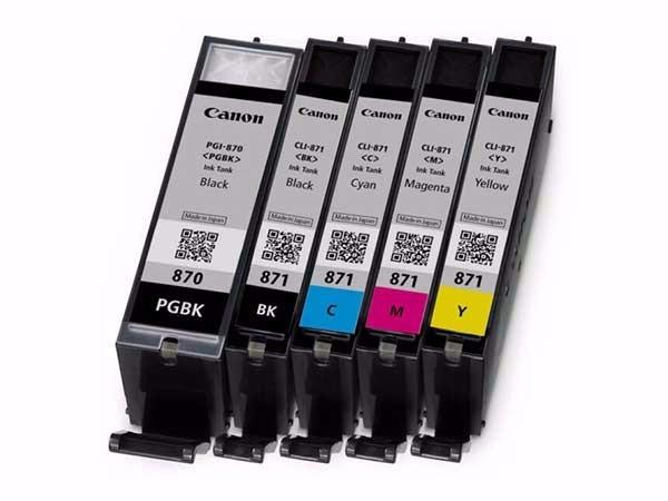 佳能 871BK 墨盒黑色(适用于MG7780、TS9080、TS6080、TS8080)