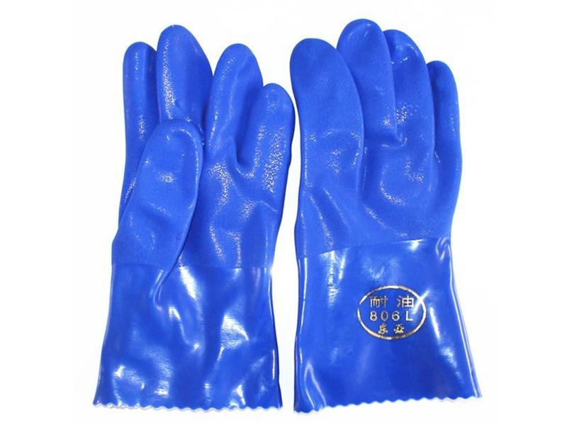 806东亚耐油乳胶手套