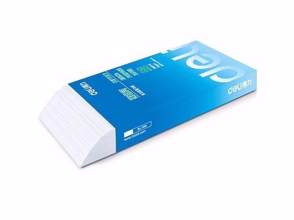 得力 莱茵河5包装70gA3复印纸 500张/包 整箱2500张