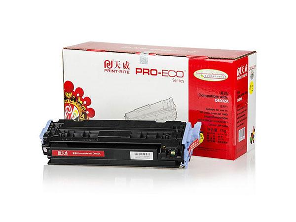 天威 适用HP 1600(Q6002A)黄硒鼓专业装