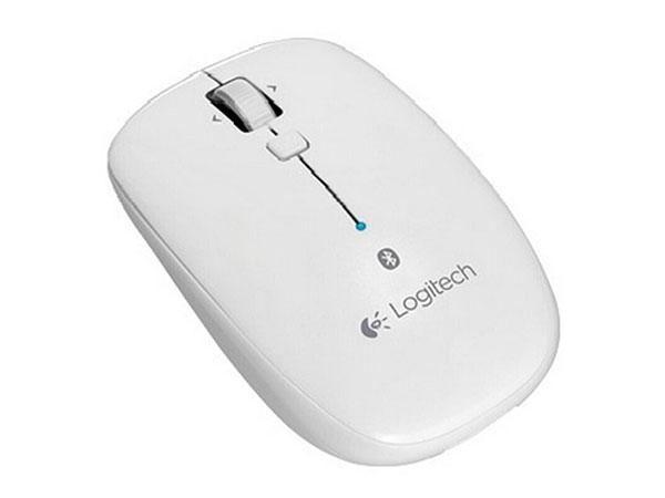罗技(Logitech)M558蓝牙无线鼠标 MAC苹果家用办公电脑笔记本鼠标白色