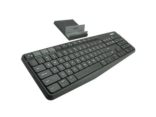 罗技(Logitech)K375s无线蓝牙双模式键盘  黑色