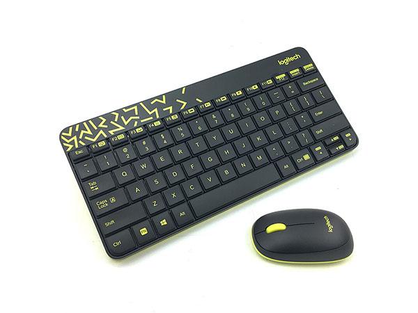 罗技(Logitech)无线键鼠套装 MK240 Nano(黑色)