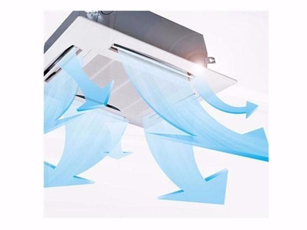 美的(Midea)KFR-51QW/DY-B(D2) 2匹 天井式 二级能效 定频冷暖 白色