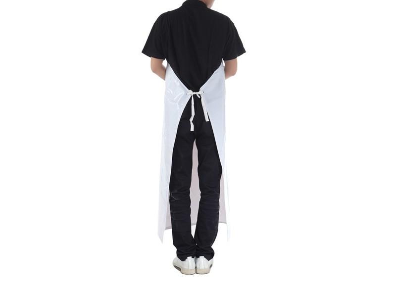 白色透明PVC防水围裙1M*7CM