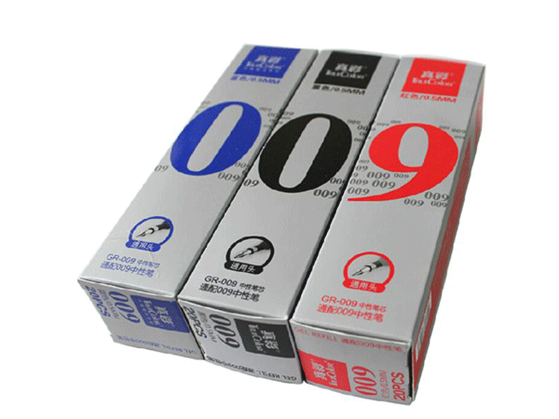 GR-009 真彩中性笔芯 红色