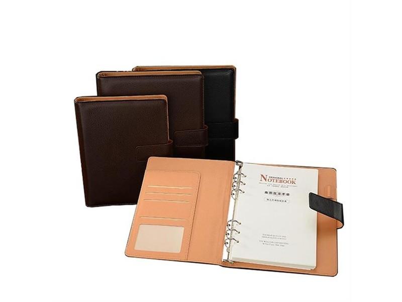 安立信2618 活页笔记本B5 80页 棕色