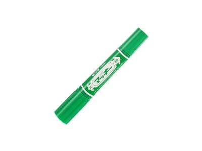 MO-150斑马大双头油性笔 绿色