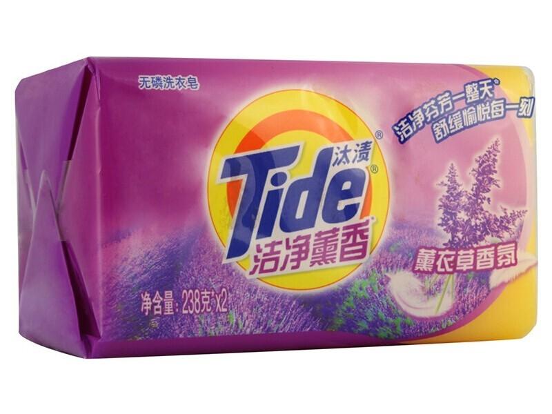 汰渍238G 洁净薰香薰衣草香氛透明肥皂2块/组