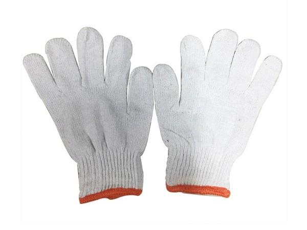 棉纱线手套