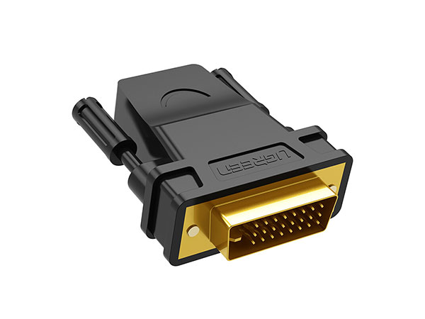 绿联20124 DVI-D(24+1)转HDMI转接头