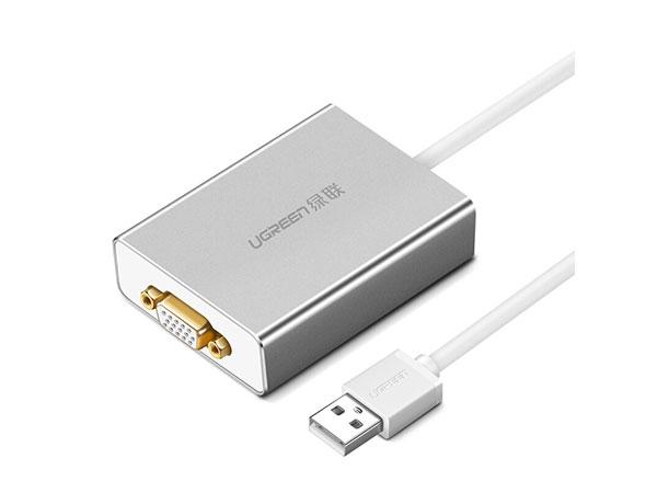 绿联40244 USB2.0转VGA