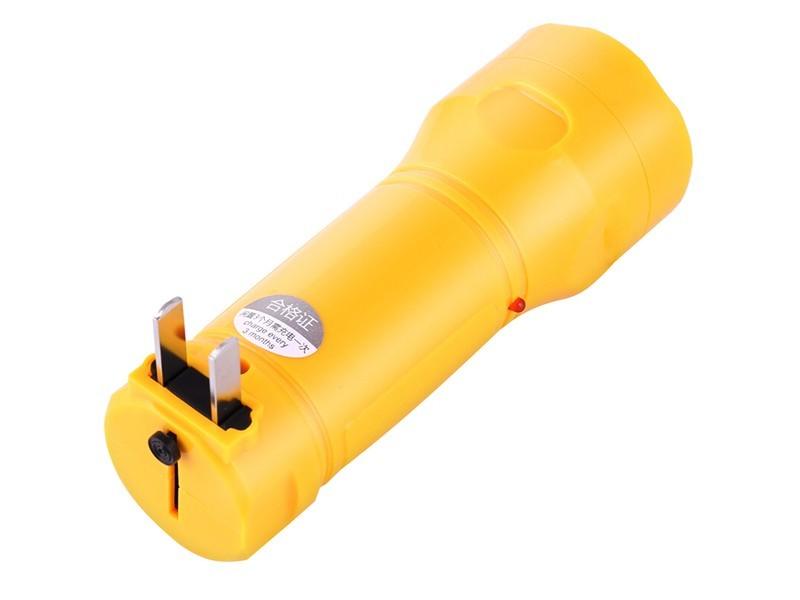得力3661 充电式LED手电筒
