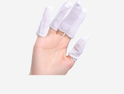 手指套棉布作业防护