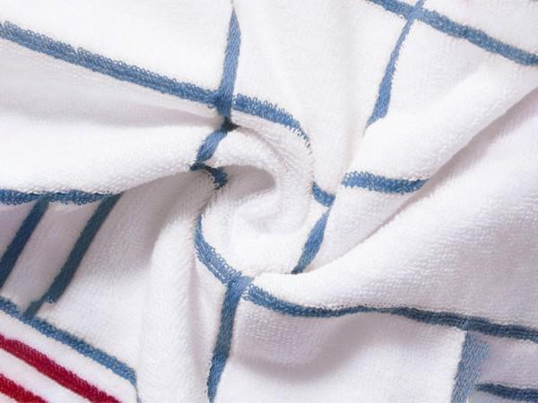 洁丽雅 6917  76*34cm经典格纹面巾