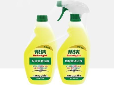 帮洁 600g*2瓶 厨房重油污净柠檬香型