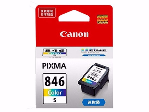 佳能 CL-846XL 彩色 (适用佳能MG3080 MG2580 MX498 iP2880)
