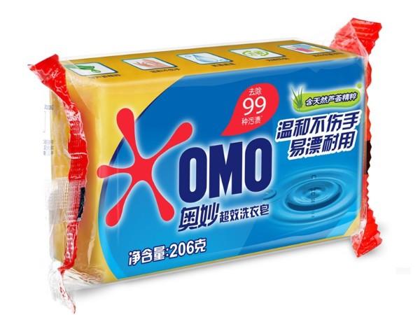奥妙206G 超效洗衣皂
