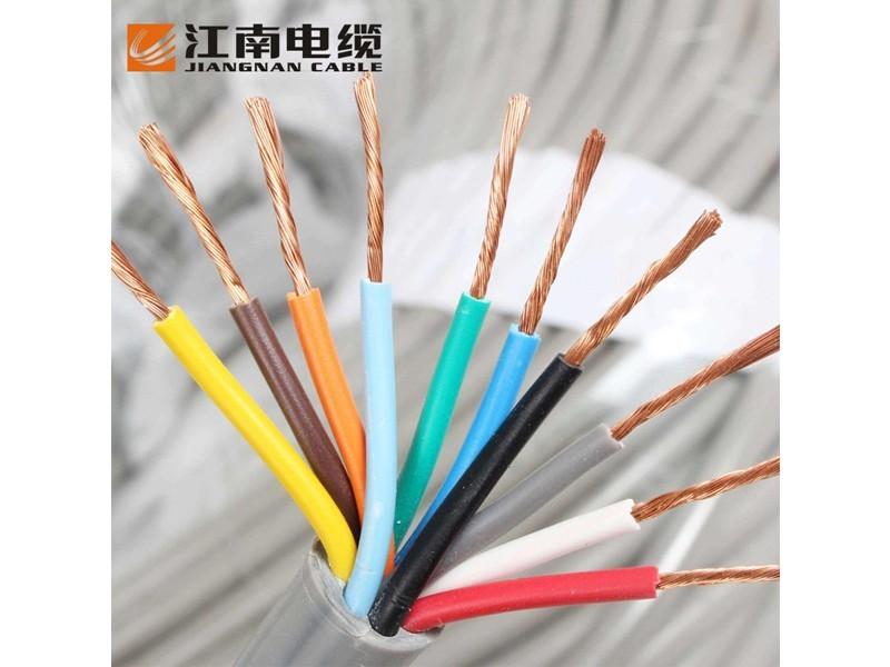 江南RVV3*1平方黑色电缆线