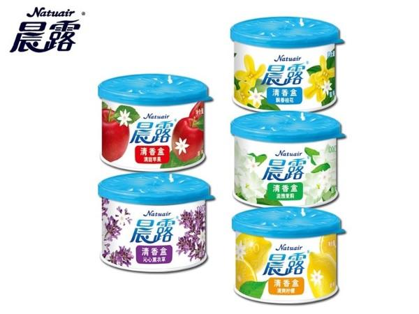 晨露 柠檬香型100g  固体清香剂厕所除臭剂
